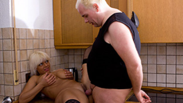 Blond Complain Banged In Kitchen