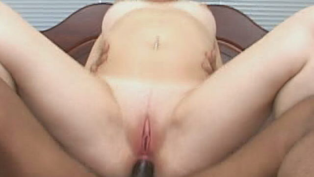 Flirtatious Blonde Slut Zoie Driving Anally An Enormous Black Phallys Within The Bed Room