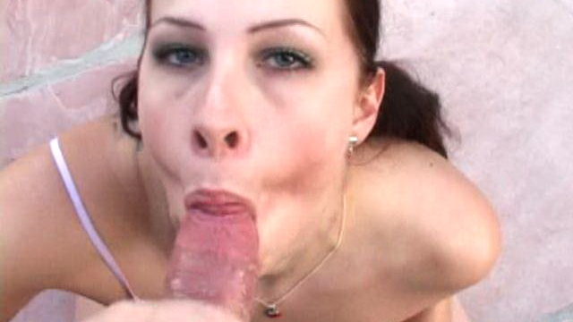 Pigtailed Novice Whore With Massive Senos Gianna Licking An Enormous Tinker In Pov Taste Outside