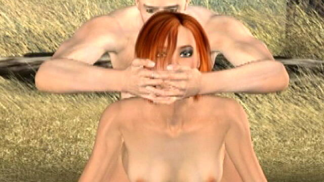 Sinfully Redhead 3-d Female Friend Tammy Will Get Schtupstared Pup Taste Out Of Doors