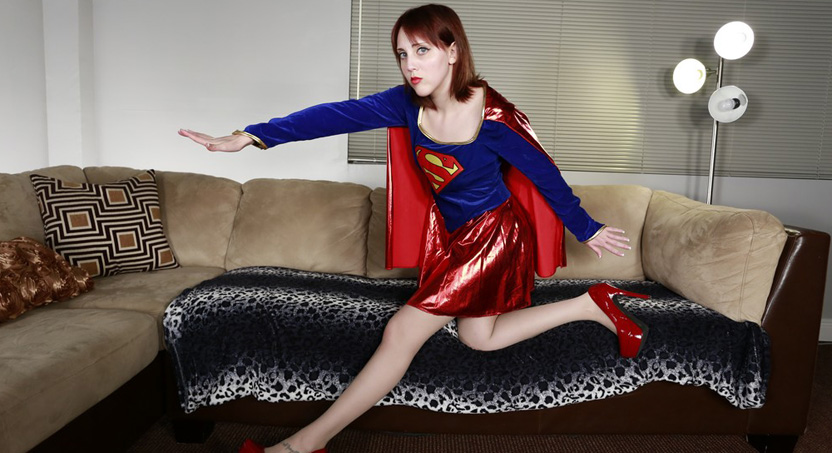 Nickey Huntsman As Supergirl: Kryptonite Sole Task