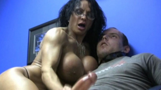 Wunder Lady Heads Bare-chested For #1 Admirer