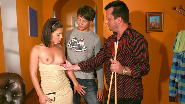 Passionate Wifey Tears Up Stranger