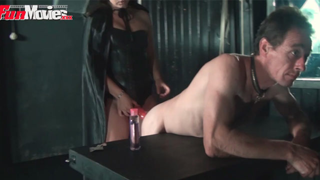 Pegging Dominatrix