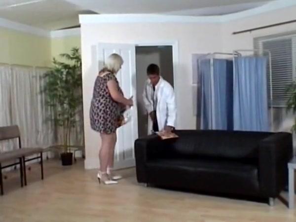 Obese Platinum-blonde