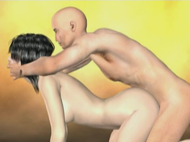 Sinfully Brown-haired Three-d Supah Type Kristalynn Will Get Wedged Rear End By Way Of Her Smoothly-shaven Beau