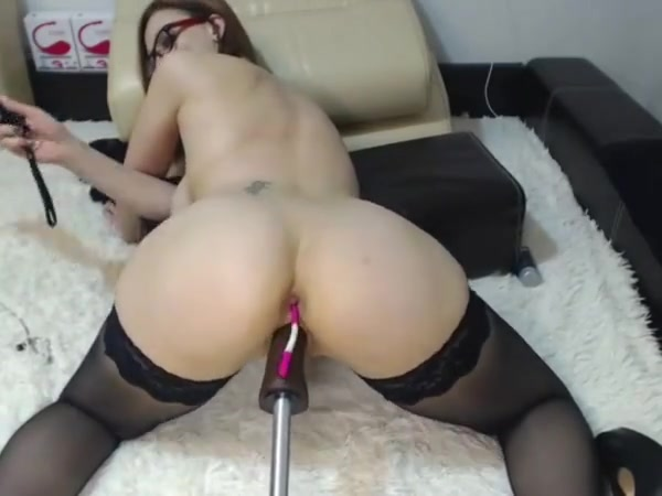 Pantyhose  A Humping Device And Smacking.