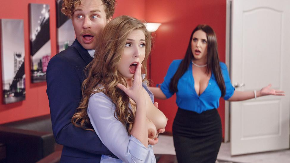 Angela Milky & Lena Paul & Michael Vegas In Porno Good Judgment – Brazzers