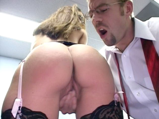 Interesting Assistant With Bouncy Donk Jordana James Will Get Plowed From Ass At The Table