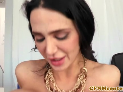 Bigtitted Cfnm Cougar Cockriding Earlier Than Facial Cumshot