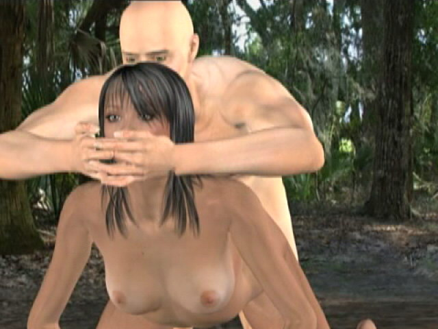Impossible To Resist Dark-haired 3-d Supah Style Marika Will Get Diminutive Fuckbox Smashed Within The Forest