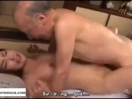 Asian Doll Coerces Defenseless Aged Uncle To Plumb Her
