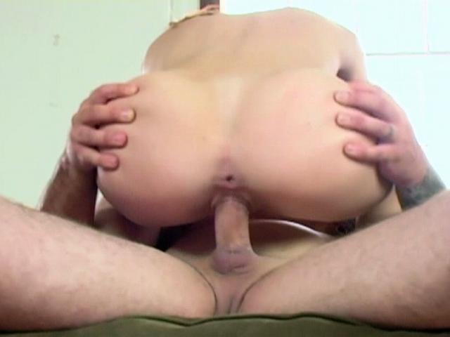 Dominica Leoni Leans Over And Will Get Her Rosy Pucker Banged