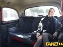 Faux Cab Czech Chick Hungers A Stiff Man Rod
