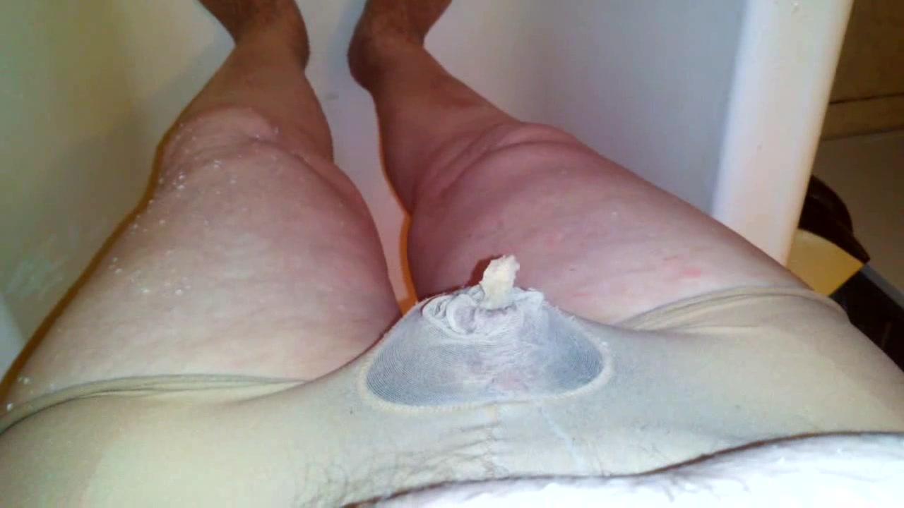 Sport Jacking Urinate Thong