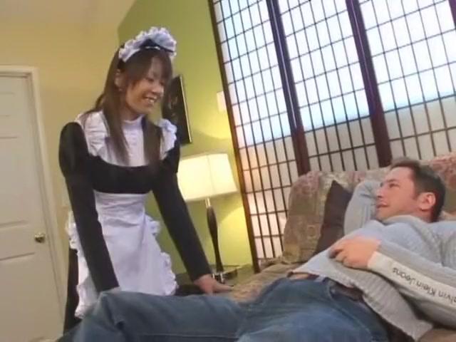 Outstanding Chinese Woman Maki Sakashita In Naughty Jizz Flows, Maid Jav Clamp