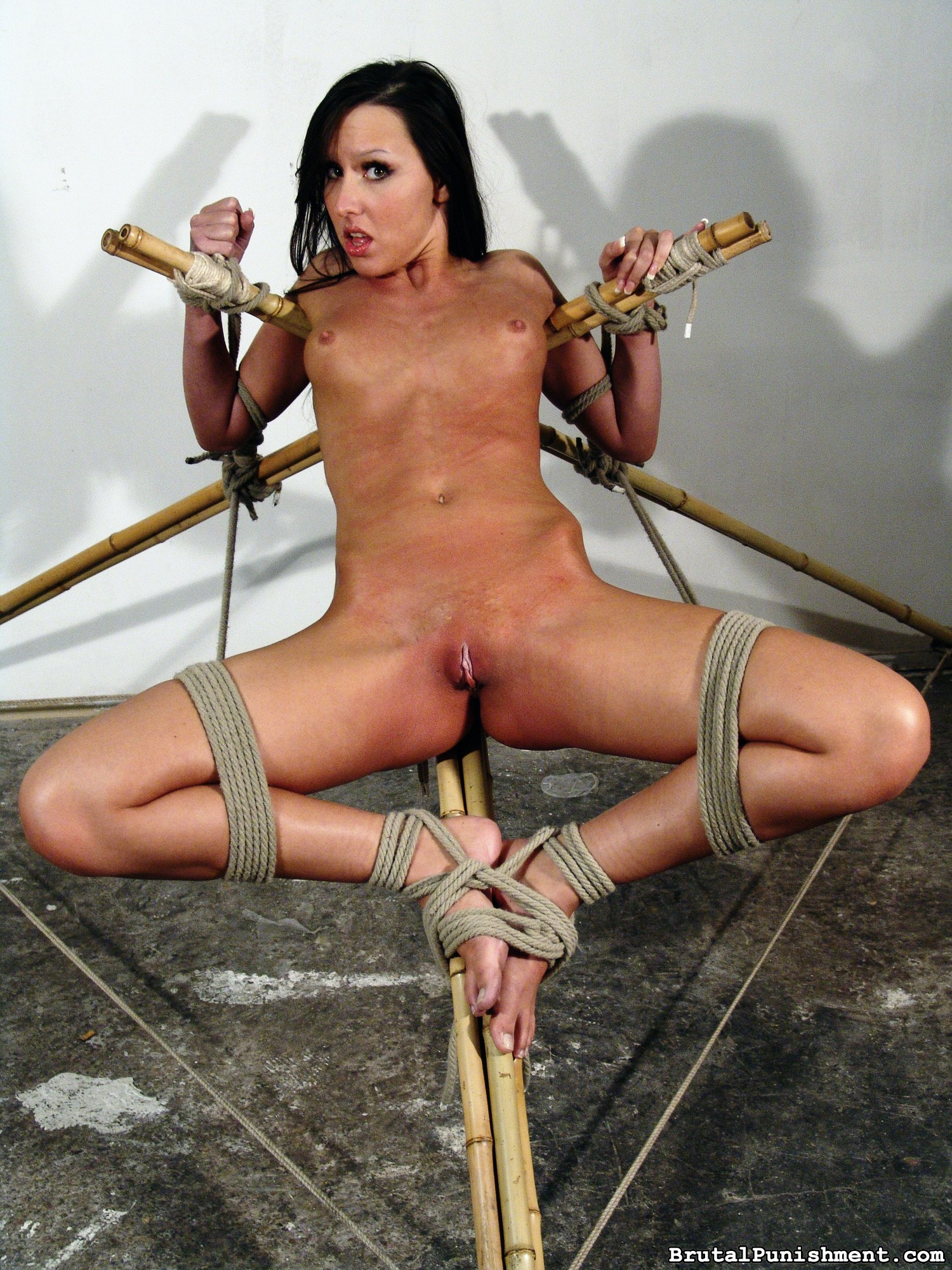 Insane Anguish Whore Nicole Suffers Some Other Restrain Bondage Consultation