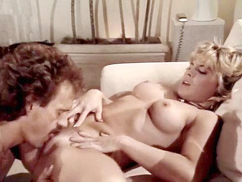 Maximum Uber-sexy Old-school Porno Starlet With Joey Silvera