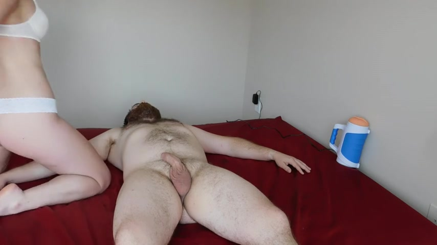 Lisey Appetizing Ass-smothering Her Fur Covered Buddy & The Usage Of Autob