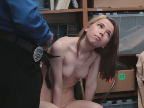 Scarcely Legitimate Teenager Were Given Spanked Via A Lengthy Police Fuckpole