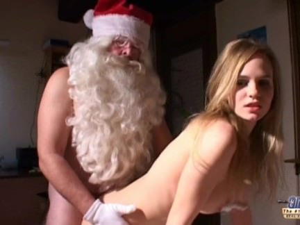 Kinky Teeny Is Pummeling Santa Claus