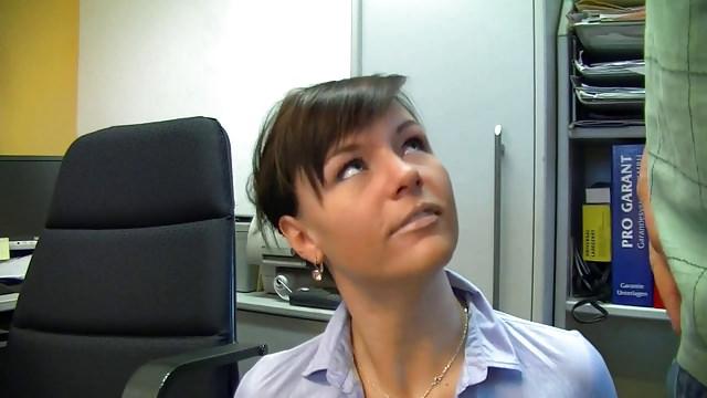 Super Hot German Assistant In Ebony Stocking Internal Cumshot Boink